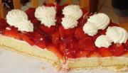Fresh Strawberry Almond Pie