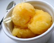 Mango and Orange Sorbet