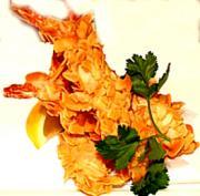 Almond-Coated Shrimp