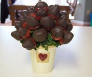 Creamy Chocolate Dipped Strawberries