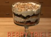 Blueberry And Raspberry Trifle