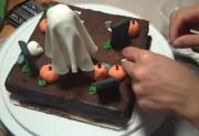 Halloween Brownies Part 4 - Decoration