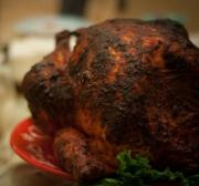 Barbecued Turkey With Herbs
