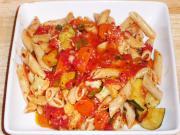 Indian Vegetable Pasta