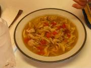 Ultimate Comfort Food — The Chicken Noodle Soup