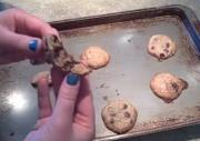 Malibu Rum and Rolled Oats Chocolate Chip Cookies