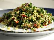 Tabbouleh Crushed Wheat, Tomato, Mint, And Parsley Salad
