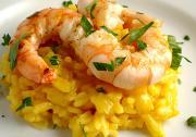 Classic Saffron Shrimp With Quinoa