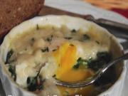 Provencal Eggs Florentine