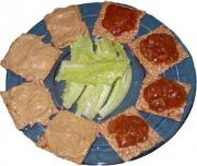 Graham Wafers With Spreads
