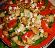 Tossed Chicken Salad