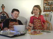 Two Kids Cooking TV: Bacon Sage Squash Bites
