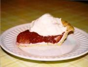 Vanilla Flavored Strawberry Pie