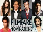 59th Idea Filmfare Awards 2014 Nominations List 24th January 2014