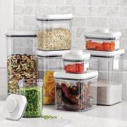 Dried foods are best stored in air tight containers to protect them from outside humidity