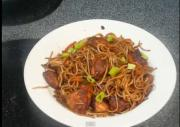 Stir Fried Chicken Noodles