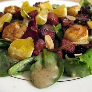 Prepare this salad with beets to beat the winter chill