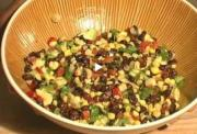 Avocado Black Bean Salad and Vegan Snicker Doodles