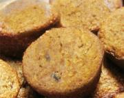 Whole-Wheat Honey Oatmeal Muffins
