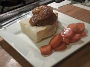 Filet Mignon with Peach Sauce