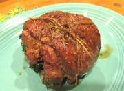 Mint Stuffed Breast of Lamb