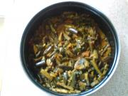 Methi Brinjal Curry
