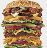 Stackable burger