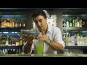 Midori Caipirinha Cocktail