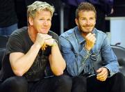 David Beckham may open a restaurant with Gordon Ramsay