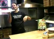 Tony Gemignani Shows Pizza Dough Tricks