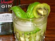 Kiwi Basil Cocktail