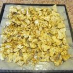 Sun dried cauliflower.