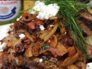 Marinated Pork Chops with Fennel Tomato Sauce Paired with Peroni Beer