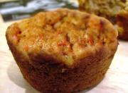Spicy Apple Carrot Muffins
