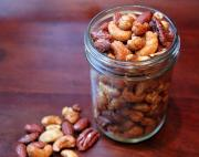 Salted Spiced Walnuts