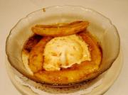 Microwave Cooked Bananas Foster