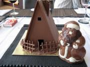Chocolate House - One of the most interesting things to do with leftover chocolate