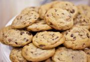 Chocolate Chip Cream Cookies