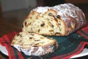 Baked Stollen Bread