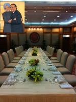 Seating arrangement for PMO Luncheon for Zardari