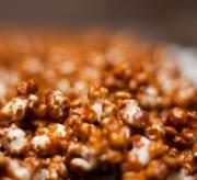 Homemade Organic Caramel Popcorn