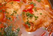 Spicy Chicken Cacciatore
