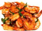 Curled Shrimp