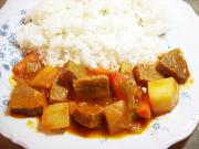 Sautéed Spicy Beef and Potato Curry
