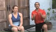 Intermediate Exercises -  Back - Dumbbell Reverse Lat Row
