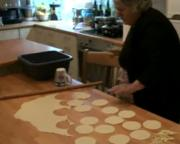 Greek Cretan Cheese Pies Part 2 - Preparing the crust