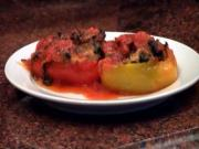 Stuffed Peppers With Sausage and Spinach