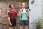 Beginner Exercises -  Biceps - Dumbbell Curls