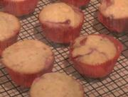 Raspberry Jam Filled Muffin