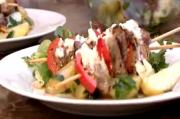 Peter Gordon's BBQ Lamb and Red Pepper Kebabs